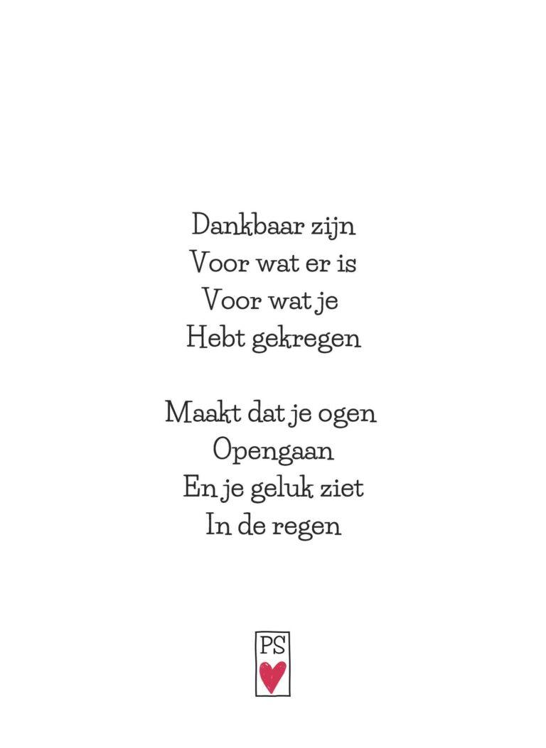 Liefde en wijsheid in kleine gedichtjes